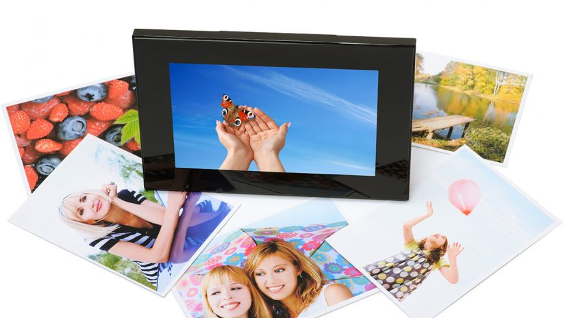 big digital picture frame
