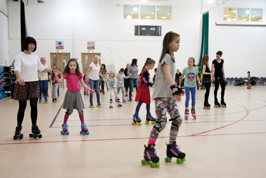 roller rink hire