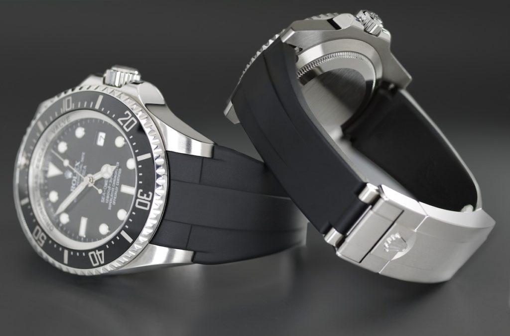 rubber watch bands for rolex